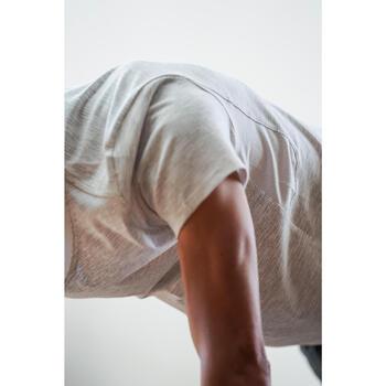 T-Shirt 520 regular col rond Gym & Pilates AOP homme - 1316419