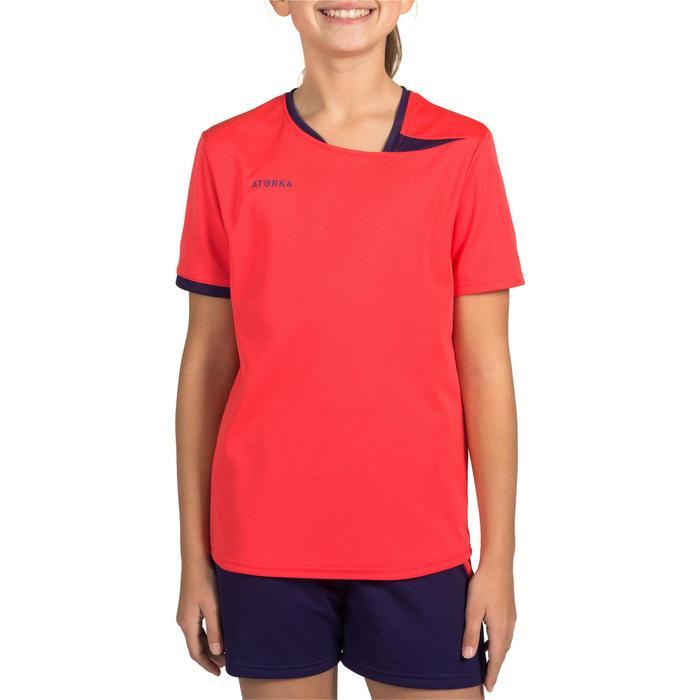 Handbalshirt meisjes H100 roze - 1316440