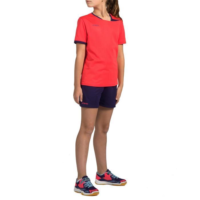 Handbalshirt meisjes H100 roze - 1316448