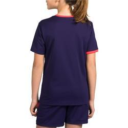 Handbalshirt voor kinderen H100 paars / roze