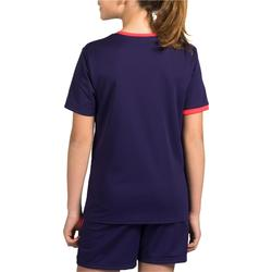 Maillot de handball enfant H100 violet / rose