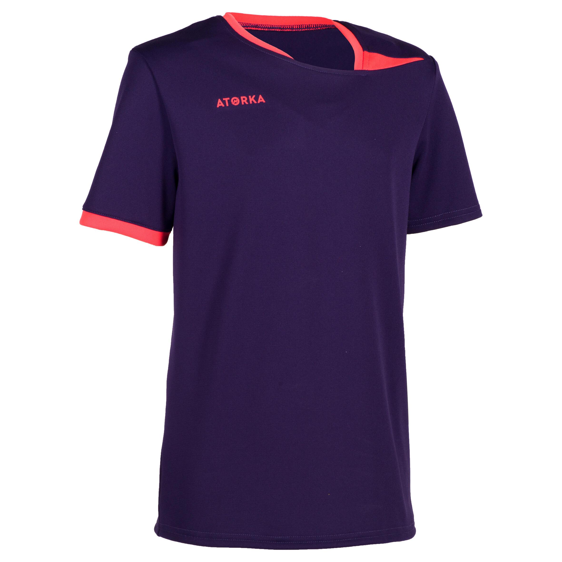 Kinder Handballtrikot H100 Kinder violett   03583788168621