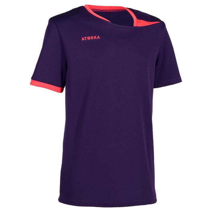 Handballtrikot H100 Kinder violett