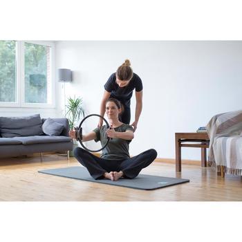 T-Shirt 900 manches courtes Gym & Pilates femme - 1316486