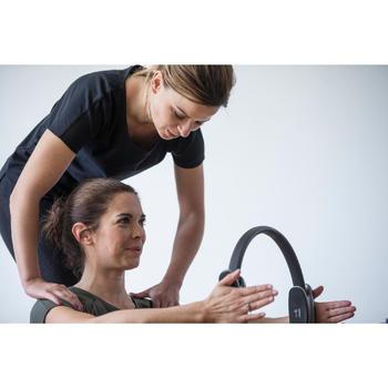 T-Shirt 900 manches courtes Gym & Pilates femme - 1316505