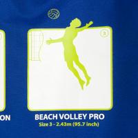 Ensemble de volleyball de plage 500 bleu
