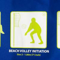 Filet de volleyball de plage VP 500 bleu