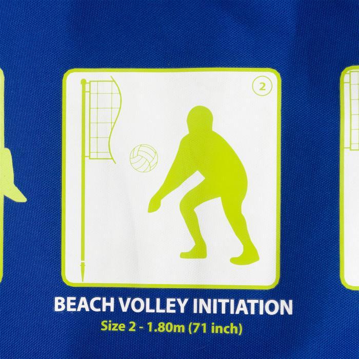 Filet de beach-volley BV 500 bleu