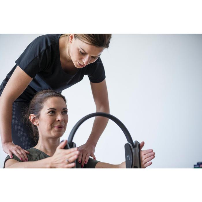 T-Shirt 900 manches courtes Gym & Pilates femme rose des sables