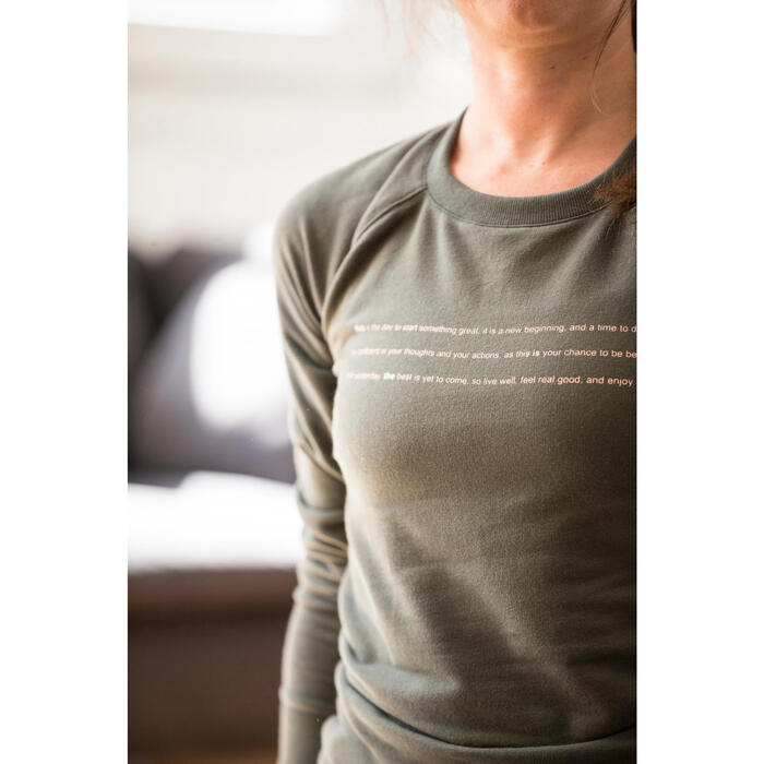 Pantalon 900 Gym & Pilates femme - 1316532