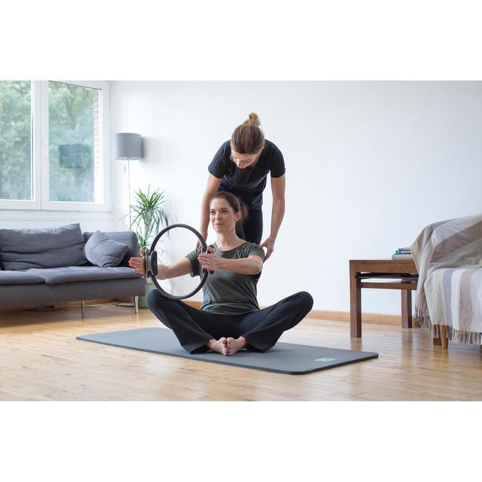 T-Shirt 900 manches courtes Gym & Pilates femme - 1316546