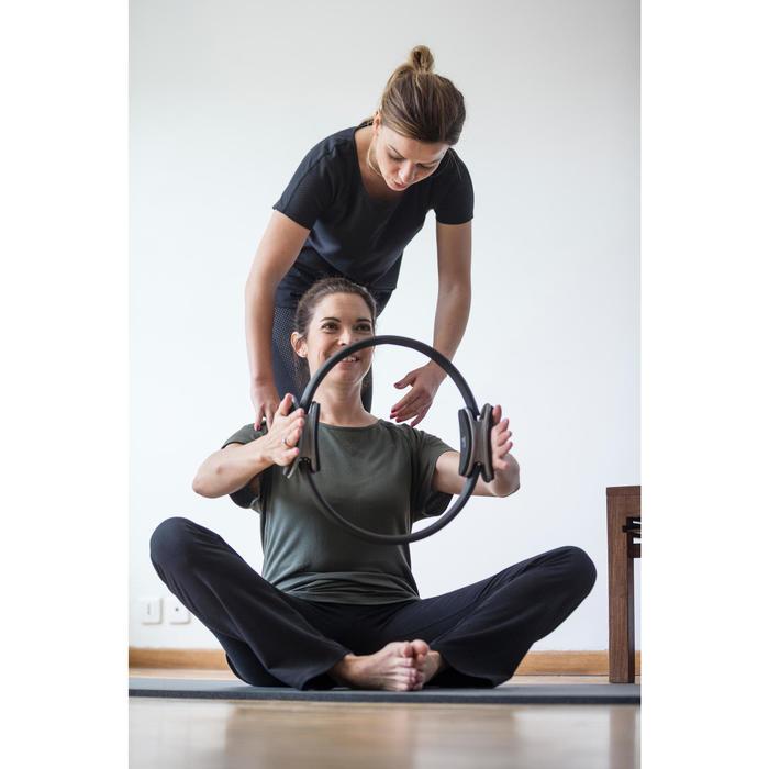 T-Shirt 900 manches courtes Gym & Pilates femme - 1316563