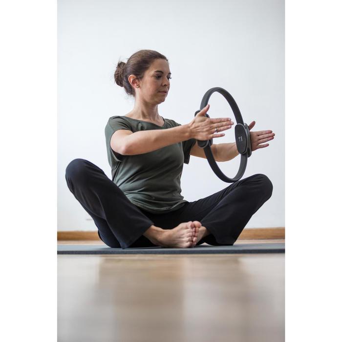 T-Shirt 900 manches courtes Gym & Pilates femme - 1316577
