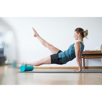Short 520 gimnasia y pilates mujer azul