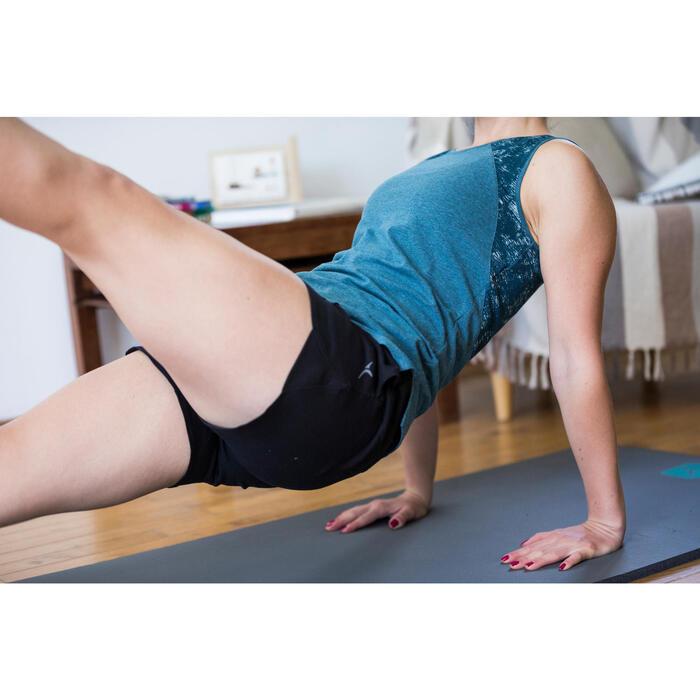 Short 520 Gym & Pilates Femme Bleu glacier