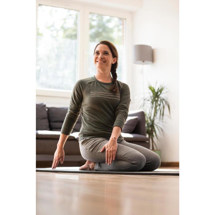 Sweat-shirt 100 Gym & Pilates Femme - 1316613