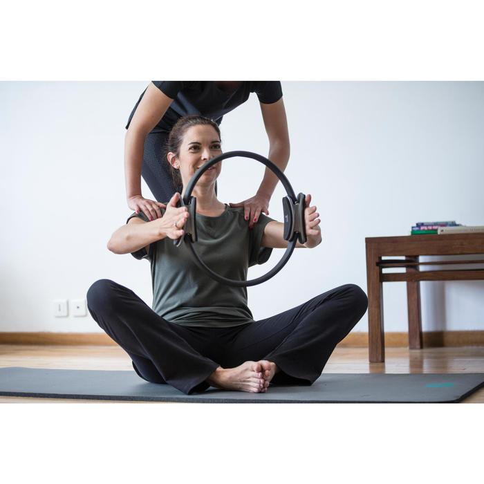 T-Shirt 900 manches courtes Gym & Pilates femme - 1316633