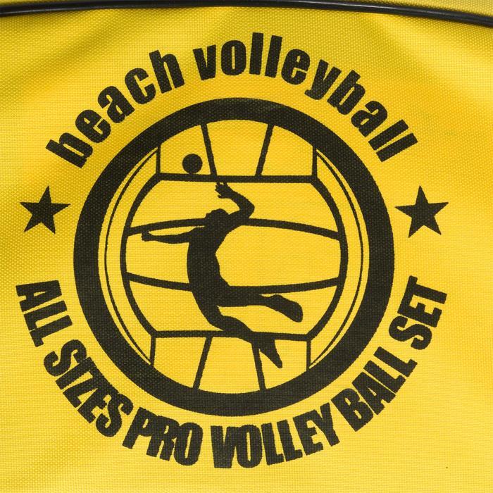 Filet de beach-volley BV700 jaune - 1316640