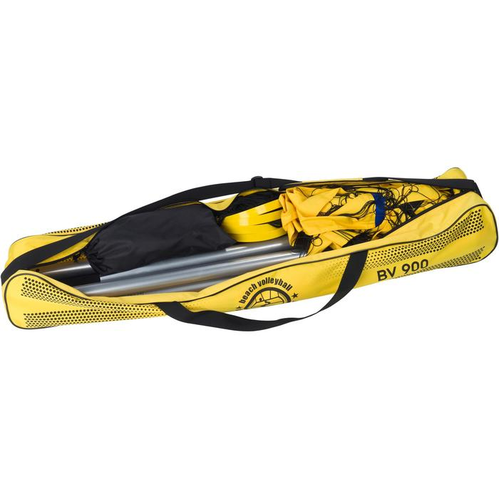 Filet de beach-volley BV900 jaune