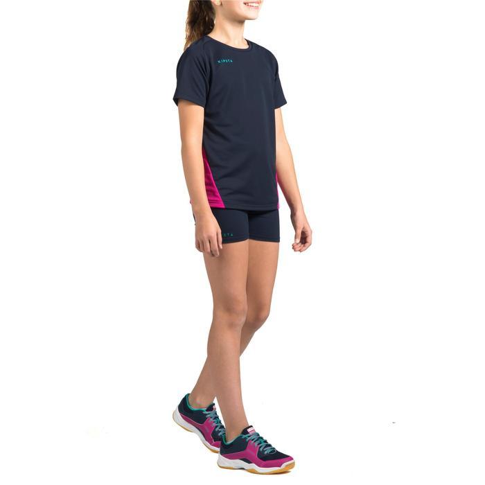 Short V100 fille bleu - 1316646