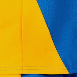 Camiseta de voleibol V100 niño Azul y Amarillo