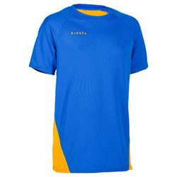 Maillot de volley-ball garçon V100 bleu et