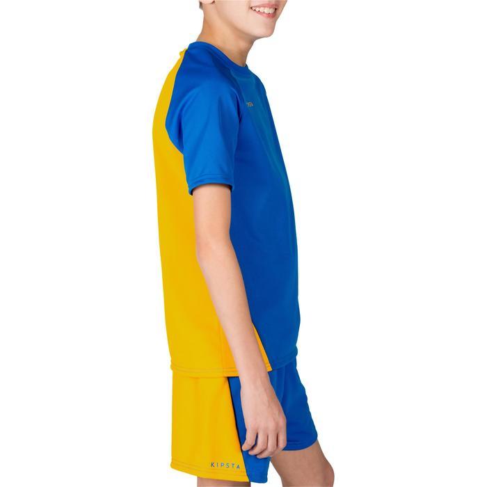 Maillot de volley-ball garçon V100 bleu et - 1316670