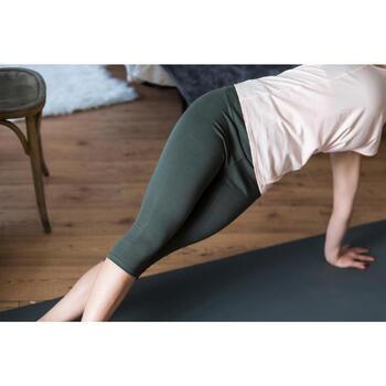 Corsaire 900 Gym & Pilates Femme kaki - 1316747