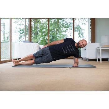 T-Shirt 520 slim col rond Gym & Pilates homme printé - 1316784