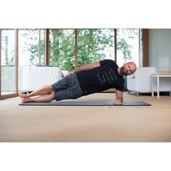 T-Shirt 520 slim col rond Gym & Pilates printé homme - 1316784