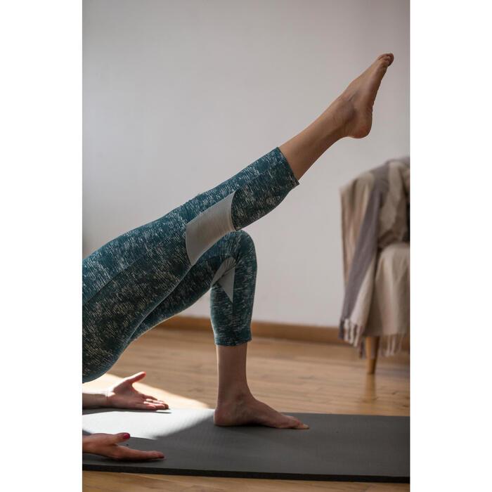 Legging 7/8 520 Gym & Pilates femme gris chiné - 1316825