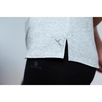 T-Shirt 520 manches courtes Gym & Pilates femme - 1316833