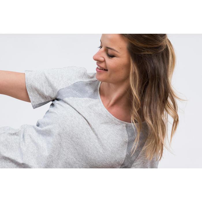 T-Shirt 520 manches courtes Gym & Pilates femme - 1316854