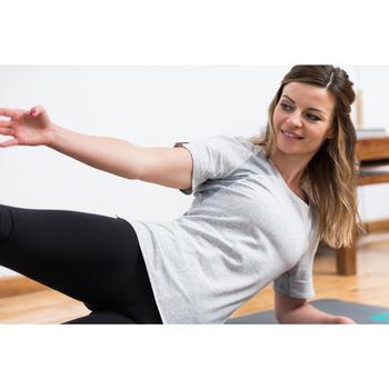 T-Shirt 520 manches courtes Gym & Pilates femme - 1316870