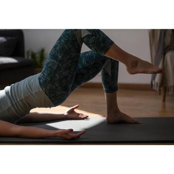 Legging 7/8 520 Gym & Pilates femme gris chiné - 1316872