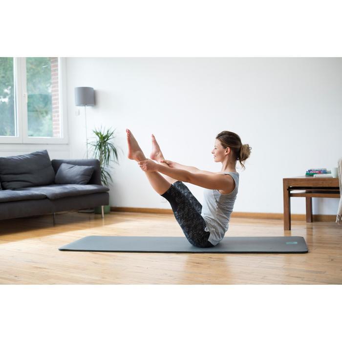 Débardeur 520 Gym & Pilates femme gris chiné clair - 1316882