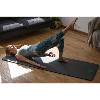 Legging 7/8 520 Gym & Pilates femme bleu grisé chiné - 1316885