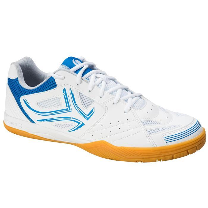 Zapatillas de ping pong TTS 500 blancas