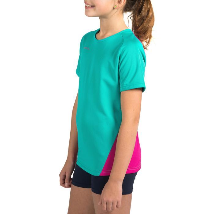 Maillot de volley-ball fille V100 bleu et - 1316900