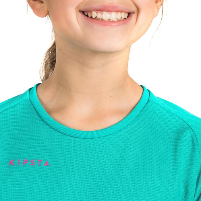 Maillot de volley-ball fille V100 bleu et - 1316901