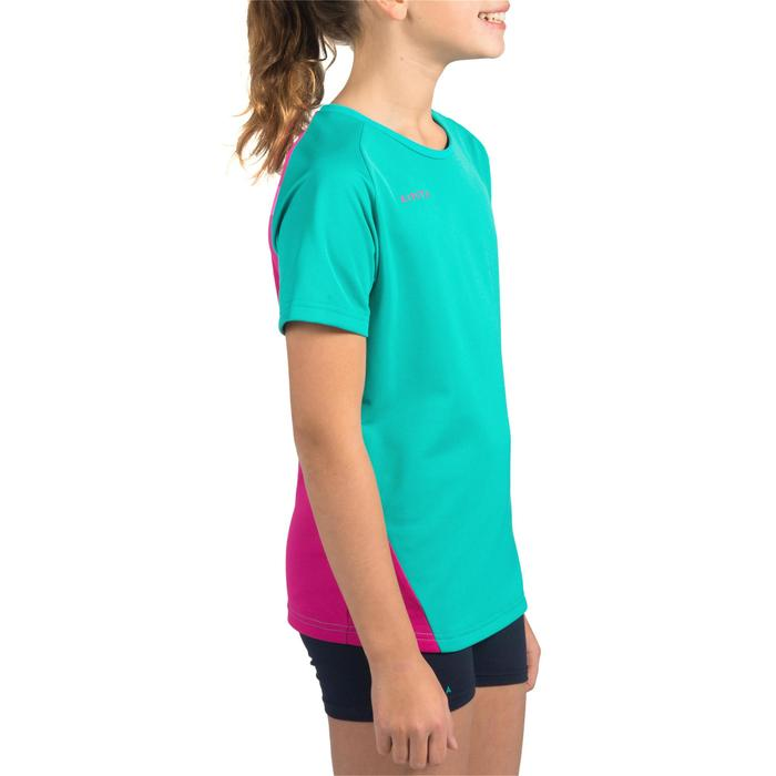 Maillot de volley-ball fille V100 bleu et - 1316902