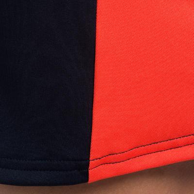 Jupe de hockey sur gazon fille FH100 bleu et rose
