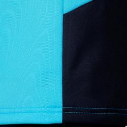 Camiseta Manga Corta Hokey Hierba Kipsta FHTS100 Niño Azul Marino Azul Claro