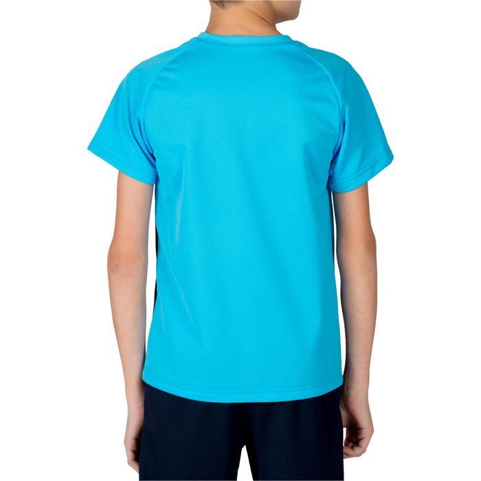 Maillot de hockey sur gazon garçon FH100 bleu marine et bleu clair