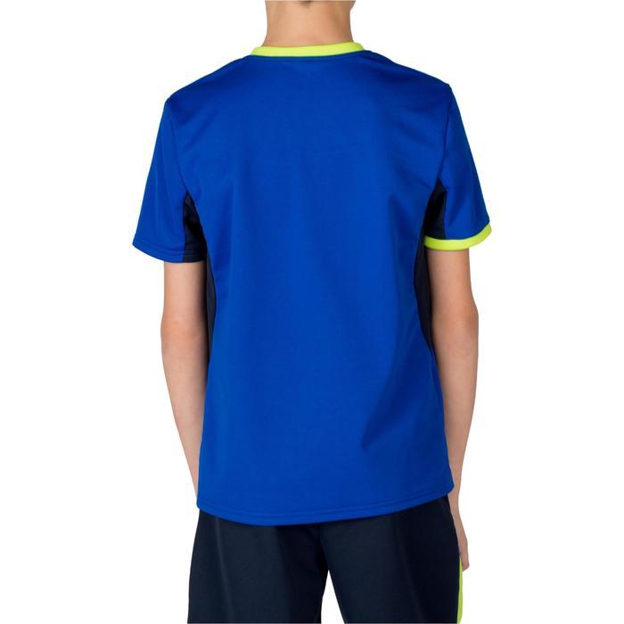 Handballtrikot H100 Kinder blau/gelb