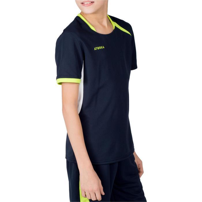 Handbalshirt kind H100 marineblauw / geel