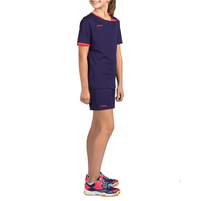 Handbalshort H100 meisjes violet - 1316950
