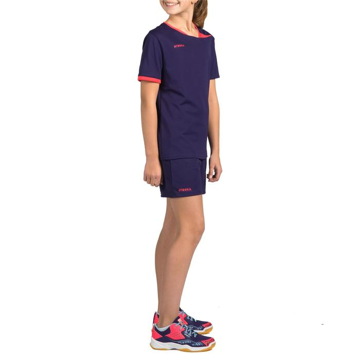 Short de handball H100 fille violet - 1316950