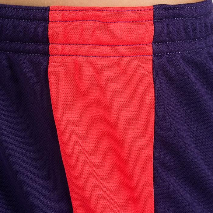 Short de balonmano H100 niña violeta