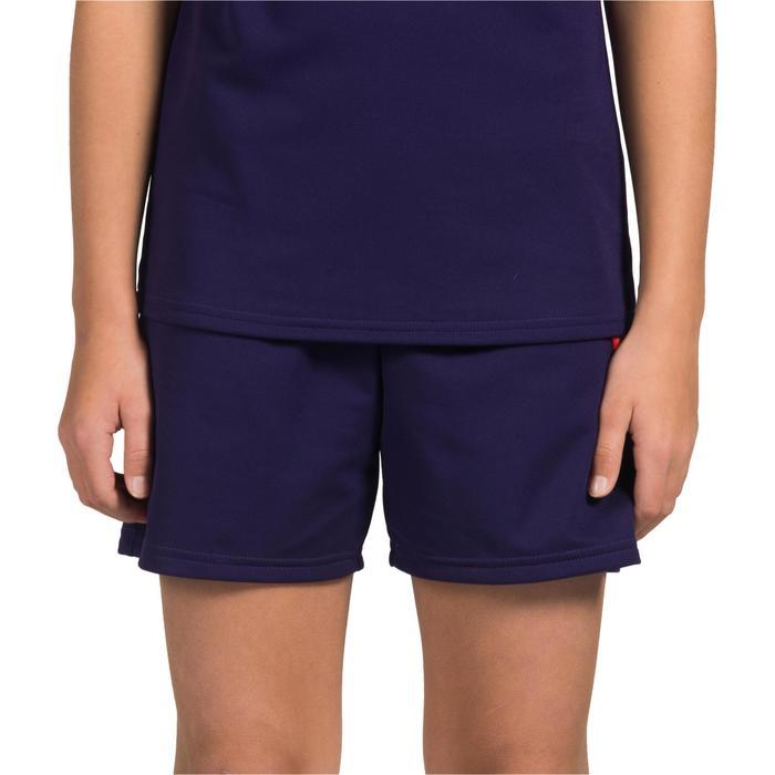 Handballshorts H100 Kinder violett